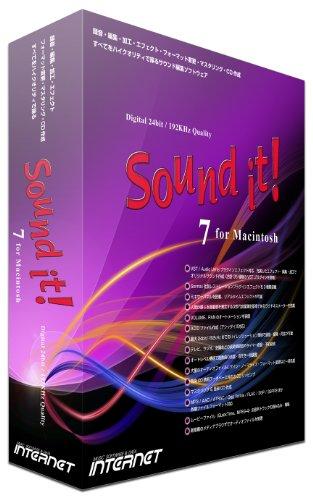 インターネット サウンド編集ソフト Sound it! 7 for Macintosh