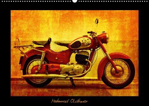 Motorrad Oldtimer (Posterbuch DIN A3 quer)