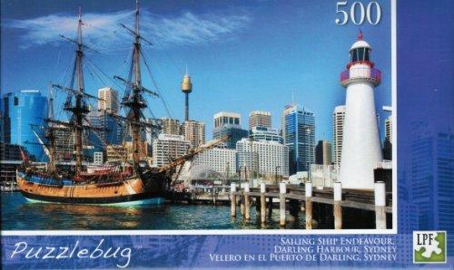 Puzzlebug 500 piece Jigsaw Puzzle; Sailing Ship Endeavour
