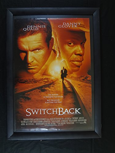 SWITCHBACK-1997-27X41 ORIG POSTER-DENNIS QUAD-DANNY GLOVER-MYSTERY-CRIME NM (Mystery Quad compare prices)