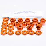 Aluminium Rocker Cover Kit Audi Quattro (4 Cyl.) Orange