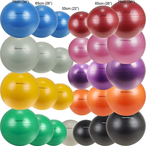 Isokinetics Inc. Brand Exercise Ball - Anti-Burst - 55cm/22