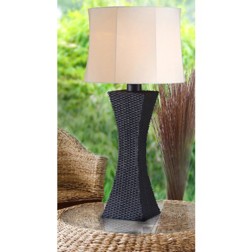Kenroy Home 32204BRZ Weaver Outdoor Table Lamp
