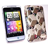 Kit Me Out UK Clip-on Case for HTC Salsa - Qwerty Keyboard