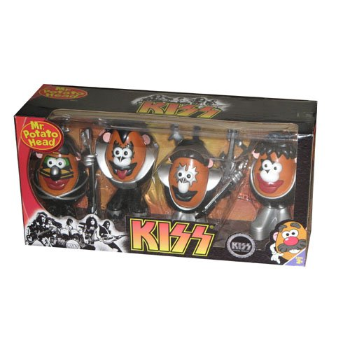 Picture of Promotional Partners Worldwide KISS Potato Heads, Set of 4 Figure (B002IUHSL4) (Promotional Partners Worldwide Action Figures)