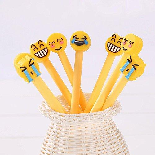pack-of-4-emoji-gel-pens-set-kawaii-school-supplies-office-stationary-photo-album-canetas-kawaii-pen