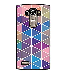 printtech Triangle Pattern Back Case Cover for LG G4 ,LG G4 H815