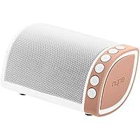 Nyne Cruiser Universal Wiederaufladbarer Robuster Portabler Bluetooth Wireless Lautsprecher mit Integriertem Mikrofon - Weiß/Rosegold