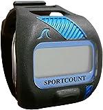 Sportcount Combo bleu chronomètre et tour compteurs