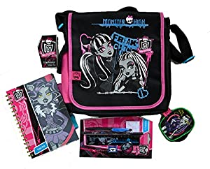 Monster High Filled School Messenger Bag.