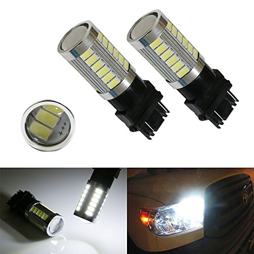 ijdmtoy-2-hid-matching-6000k-white-33-smd-3157-3357-3457-4114-led-bulbs-for-daytime-running-lights-d