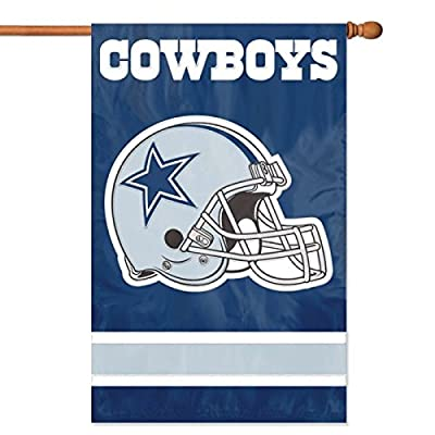 USA Wholesaler - PAR-AFDA - Dallas Cowboys NFL Applique Banner Flag