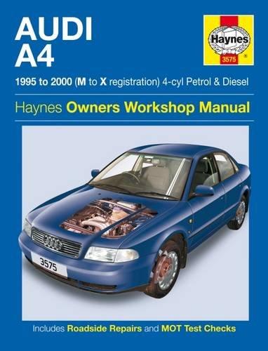 audi-a4-petrol-diesel-95-00-haynes-repair-manual-1995-to-2000-service-repair-manuals
