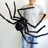 edealing(TM) ハロウィーンの装飾テーマバー75センチメートルについて1PCS大蜘蛛ぬいぐるみプロップ