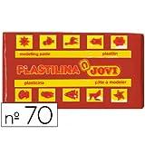 Jovi 70 - Plastilina Jovi Basica. Caja x 30 (Marrón)