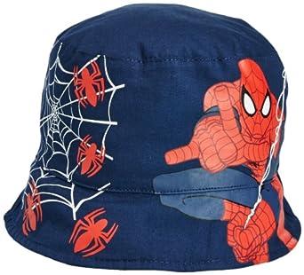 Marvel Boys Spiderman EN4097 Cap, Blue (Skydiver Blue/Optic White), 52 cm