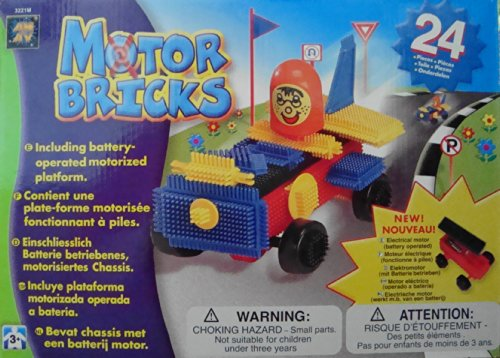 Motor Bricks 24-Piece Battery Operated Vehicle AMAV