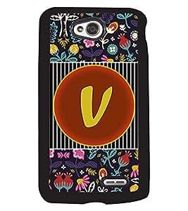 PrintVisa Metal Printed Alphabet Designer Back Case Cover for LG L70 D320N/ L70 Dual D325-D4806