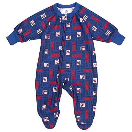 Gerber New York Giants Infant Blanket Sleeper - Royal Blue (18 Months) front-248422