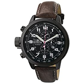 Invicta Men's Force Collection Lefty Chrono XL Leather Watch #4538