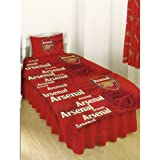 Arsenal FC Football Duvet Cover Set and Pillow Case
