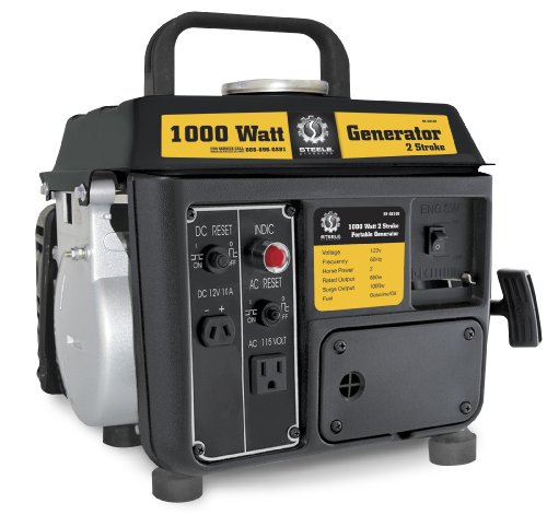 Steele Products Sp-Gg100 1,000 Watt 2-Cycle Gas Powered Portable Generator (Discontinued By Manufacturer)