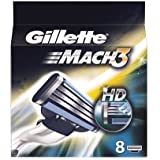 Gillette Mach3 HD 8-Pack Razor blades 100% ORIGINAL & GENUINE