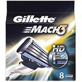 Gillette Mach3 HD 8-Pack Razor blades 100% ORIGINAL & GENUINE