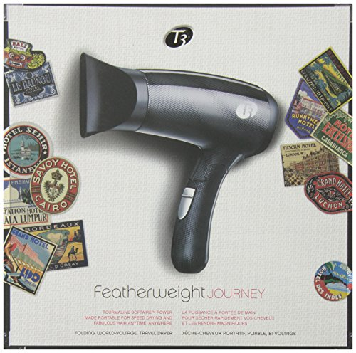 T3 Featherweight Journey Travel Hair Dryer