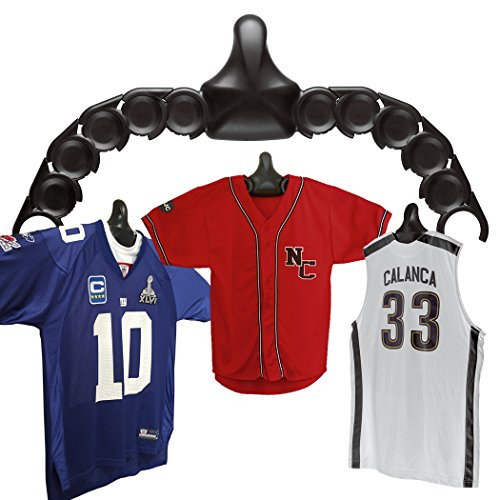 ShirtWhiz | The Sports Jersey and Shirt Wall Display Case Unit | Shapes to Fit Any Jerseys (Customize Baseball Jersey compare prices)