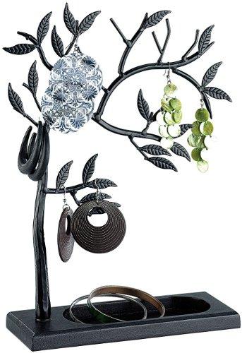st-leonhard-dekorativer-schmuckbaum-schwarz-aus-vollmetall-hohe-27cm-mit-standfuss-30cm