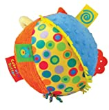 Kids Preferred Label Loveys Chime Ball, Cute as a Button (Discontinued by Manufacturer)