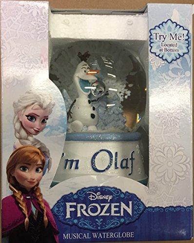 Disney Frozen Olaf Musical Waterglobe