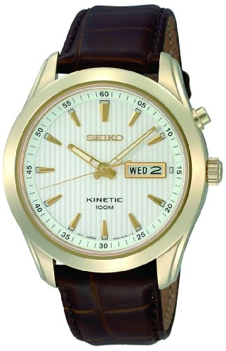 Seiko Gents Kinetic Watch SMY110P1