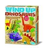 4M Wind-Up Dinosaurs Making Kit by 4M
