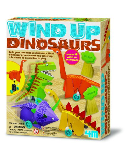 4M Wind-Up Dinosaurs Kit