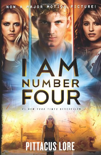Cover of I Am Number Four Movie Tie-in Edition (Lorien Legacies)