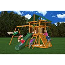 Big Sale Best Cheap Deals Gorilla Playsets Outing III Playground System