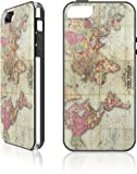 Maps | World Map 1854 | LeNu Plus Case for Apple iPhone 5 / 5s