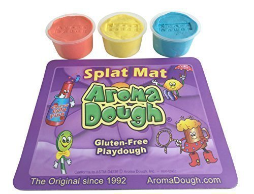 Aroma Dough, Gluten-Free, Soy-Free Playdough Set (Soy Play Dough compare prices)