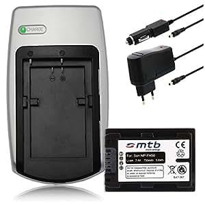 Chargeur + Batterie NP-FP50/FH50 pour Sony