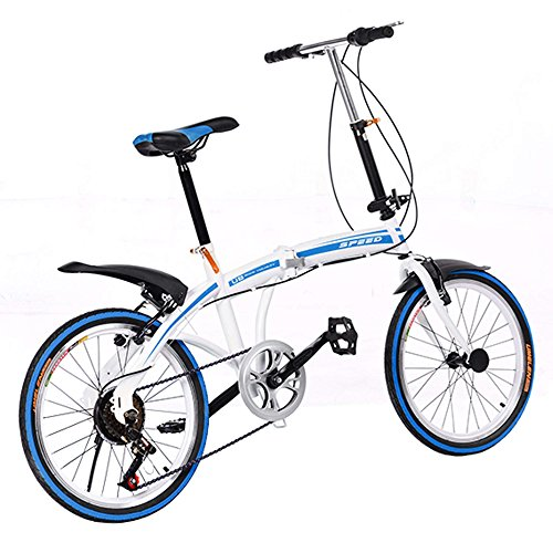 Why Should You Buy Hotouch New Portable Folding Foldable Bike 6-Speed Bicycle Ladies Bicycles