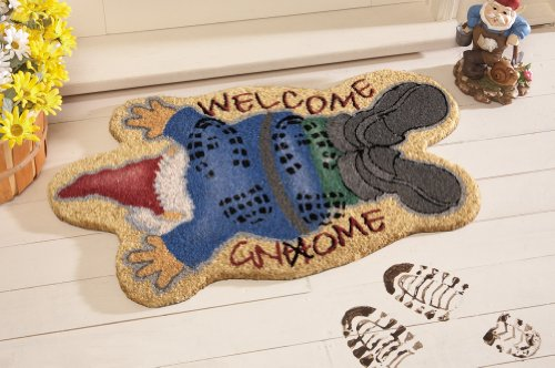 Trampled Gnome Front Door Coco Mat By Collections Etc