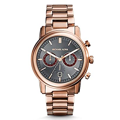 2532cc7c414d Michael Kors Watches Pennant Chronograph Watch (Rose Gold) - voldrsbn-92