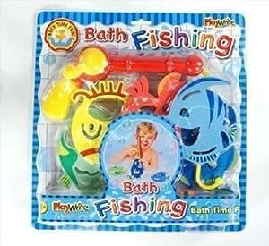 Canna da pesca con pesci giocattolo gioco divertente per - Giochi di fare il bagno ...