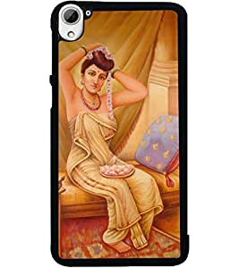 ColourCraft Amazing Painting Design Back Case Cover for HTC DESIRE 826