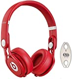 Beats by Dr. Dre Mixr Red DJ Headphones Carry Pack with Wire Holder thumbnail