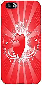 Snoogg Wallpaper Designer Protective Back Case Cover For Apple Iphone 6