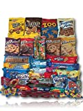 Cookie & Candy Care Package by AtHomePlus (50 Count) --Perfect Gift for College Dorm, Military or Office!!