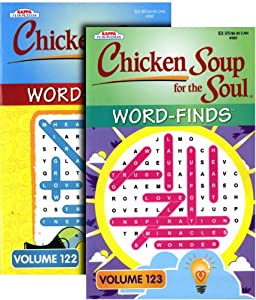 Chicken Soup for the Soul Word-Finds 1 out of 2 assorted Books